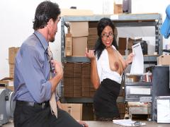 Big Tit Office Fuck